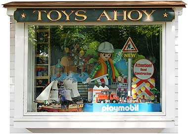 Toys Ahoy! Display Window