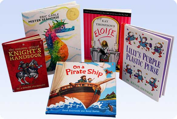 Here is a small selection of the many children s books you can find at